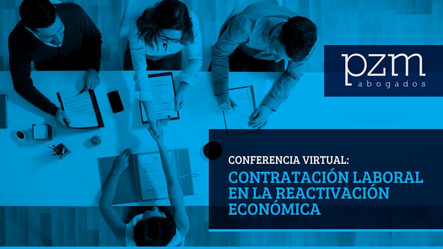 Conferencia virtual: Contratación laboral en la reactivación económica